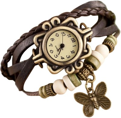 RSN VB-304 Vintage Butterfly Analog Watch  - For Girls