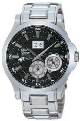 Seiko SNP003P1 Analog Black Dial Men's Watch (SNP003P1)