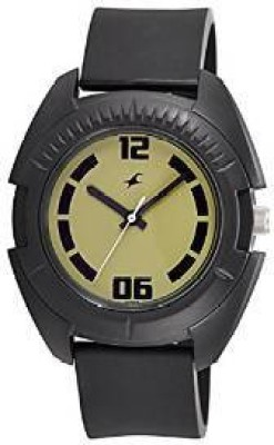 Fastrack Casual Analog Military Green Dial Men's Watch, 3116PP04