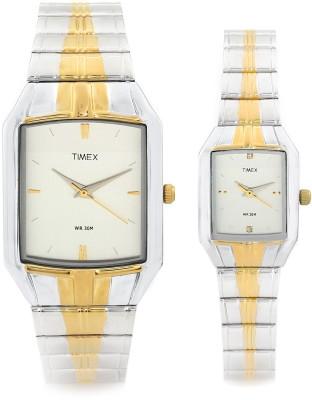 Timex PR61 Dresswear Analog Watch For Couple