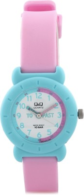 Q&Q VP81J019Y  Analog Watch For Girls