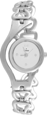 Times Silver Chain Watch  - For Women