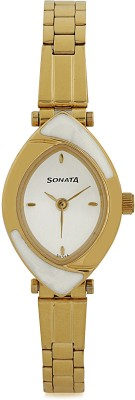 Sonata NG8069YM03C Analog Watch   For Women Sonata Wrist Watches