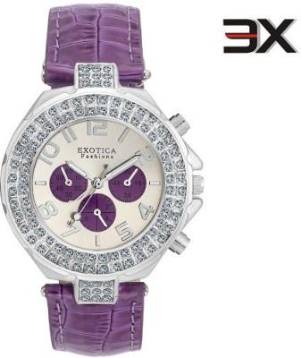 Exotica Fashions EFN-07-Purple-NS New Series Watch - For Women