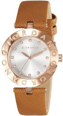 Giordano 2754-06 White Dial Analog Women's Watch (2754-06)
