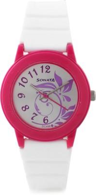 SONATANG8992PP04 Fashion Fibre Analog Watch   For Women