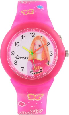 Devars H3031L-PK-BARBIE-2 Fashion Analog Watch For Girls