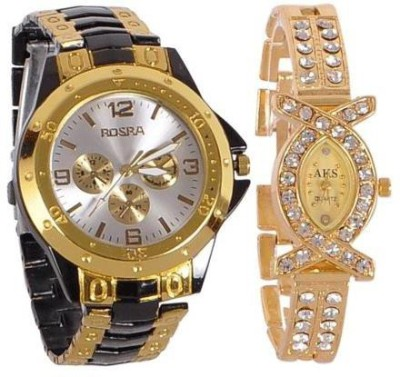Rosra NR0257  Analog Watch For Couple