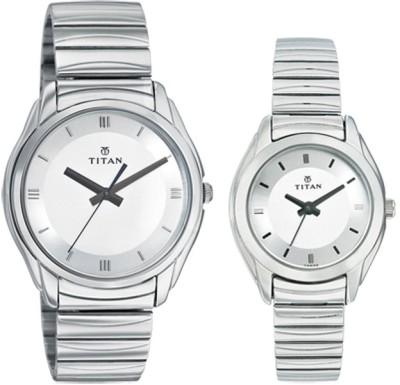 Titan 15782489SM01 Bandhan Analog Watch For Couple