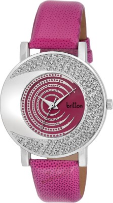 Britton BR-LR002-PNK  Analog Watch For Girls