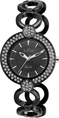 Britton BR-LR021-BLK-BLK  Analog Watch For Girls
