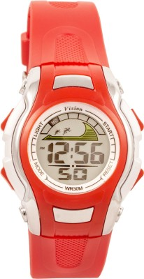 Vizion 8530021-1RED Cold Light Digital Watch For Boys