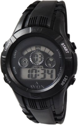 A Avon PK_151 Sports Black Dial Digital Watch For Boys