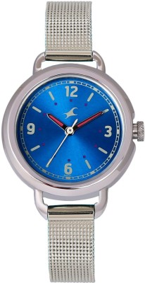 Fastrack 6123SM03 Analog Blue Dial Women's Watch