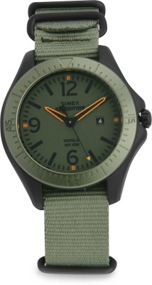 Timex Expedition Analog Green Dial Unisex Watch, T49932