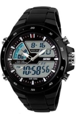 Skmei 1016 chronograph Analog Digital Watch   For Men Skmei Wrist Watches