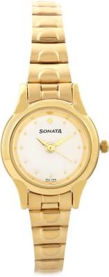 SONATA 8098YM01 Analog Watch - For Women