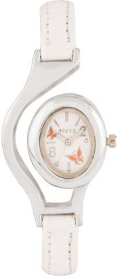 Adine AD-1302 WHITE-WHITE Fasionable Watch  - For Women