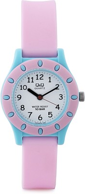 Q&Q VQ13J012Y  Analog Watch For Kids