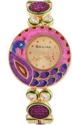 Sanaya SAN-090 NA Analog Watch For Girls