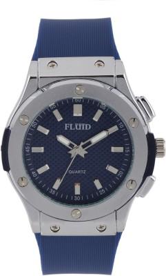 Fluid FL-410-BL ROUND Analog Watch For Unisex