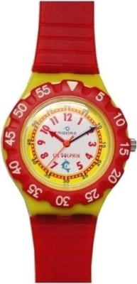 Maxima 04475PPKW FIBER Analog Watch For Kids