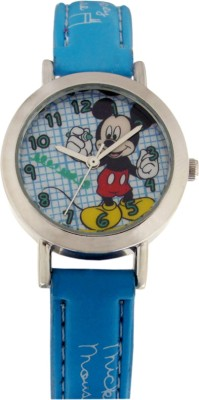 Disney 3K2176U-MK (LIGHT BLUE)  Analog Watch For Kids