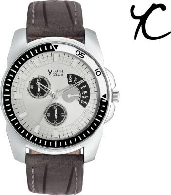 YOUTH CLUB Mett Finish Chrono Pattern 0510 Analog Watch   For Men YOUTH CLUB Wrist Watches