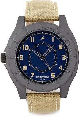 Fastrack NG9462AL01 Explorer Analog Watch   For Men Fastrack Wrist Watches
