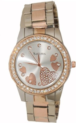 Sooms 003  Analog-Digital Watch For Girls