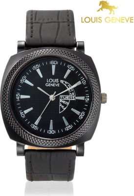 Louis Geneve LG-MW-BLACK-007  Analog Watch For Boys