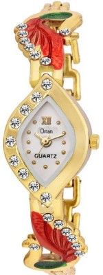 Ortan ORT177W  Analog Watch For Girls