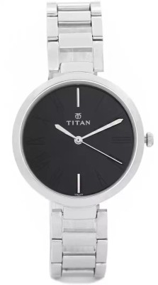 Titan NF2480SM02/NE2480SM02 Purple Analog Watch   For Women Titan Wrist Watches