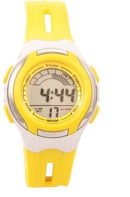 Vizion V8545019B-8YELLOW Sports Series Digital Watch For Boys