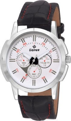 Gionee g003 Analog Multifunction Looks Round White Dial Wrist Watch  - For Men