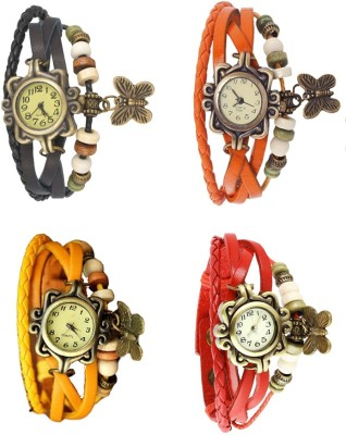 RRP Butterfly Combo Vintage Butterfly Watch  - For Women