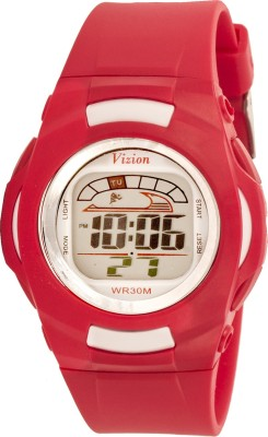 Vizion 8522-1RED Cold Light Digital Watch For Boys