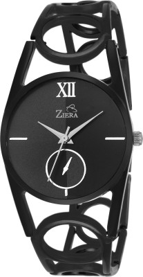 Ziera ZR8035 Special Dezined Black Analog Watch For Women
