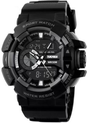 Skmei SZ1117BLK Watch  - For Men