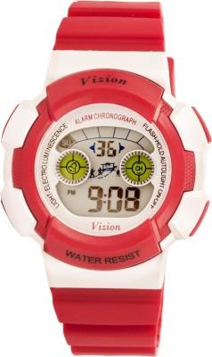 Vizion 8540B-7RED Cold Light Digital Watch For Boys