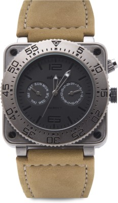 Infantry FS-0001-BRNW Black Soot Military Flagship Series Analog Watch For Unisex