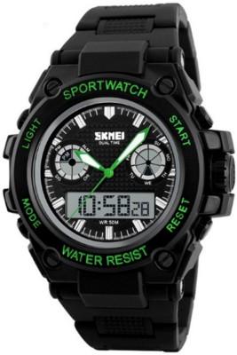 Skmei GMARKS-7121-GREEN Sports Analog-Digital Watch For Unisex