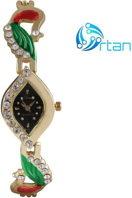 Ortan ORT 177B  Analog Watch For Girls
