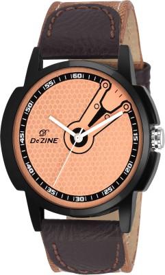Dezine DZ-GR063-BRW-BLK  Analog Watch For Boys