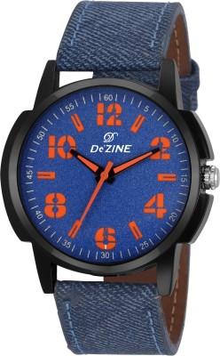 Dezine DZ-GR062-BLU-BLU  Analog Watch For Unisex