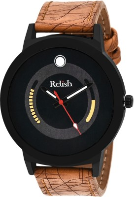 Relish RE-005BT TAN Watch  - For Men