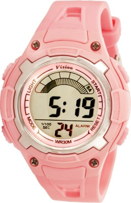 Vizion 8529019-3PINK Sports Series Digital Watch For Boys