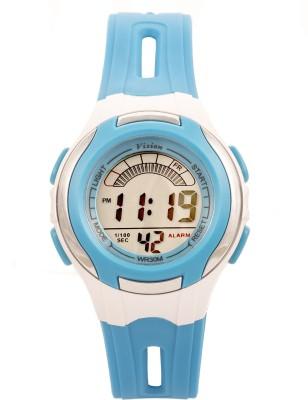 Vizion V8545019B-5BLUE Sports Series Digital Watch For Boys