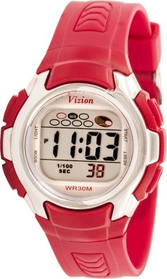 Vizion 8520-1RED Cold Light Digital Watch For Boys