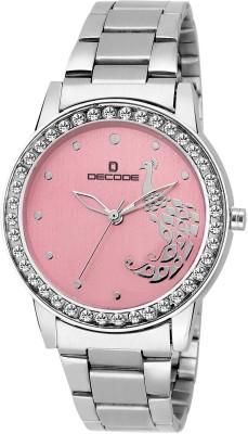 Decode Ladies Gem LR 2120 Chain Pink Analog Watch   For Women Decode Wrist Watches